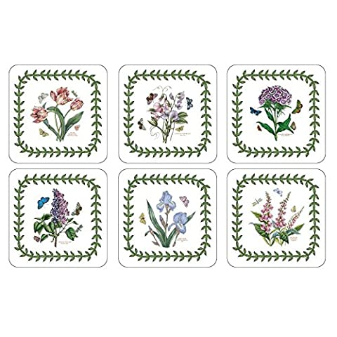 Portmeirion Botanischen Garten - Setzer 6Er Set (Packung mit 4) (Portmeirion Botanischer Garten Öl)
