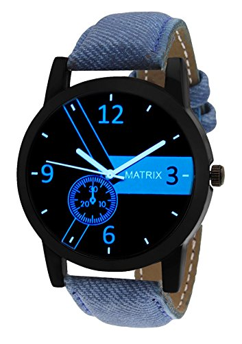 Matrix Casual Analogue Multicolour Dial Men & Boys Watch-WCH-192-BL