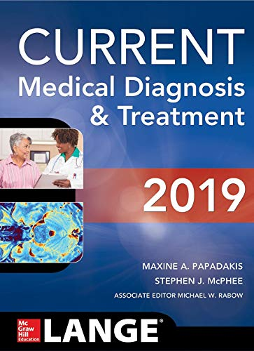 CURRENT MEDICAL DIAGNOSIS AND TREATMENT(Ie) 2019