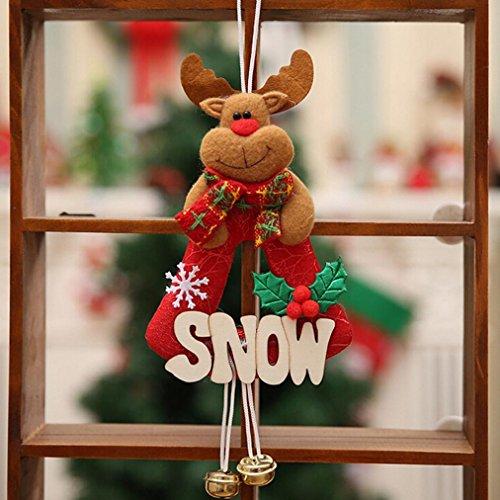 Decoración navideña,RETUROM Adornos de árbol de Navidad decoración de muebles para el hogar regalos de vacaciones