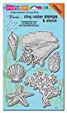 #7: Stampendous Cling Stamps & Stencils 5