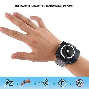 Kobwa Anti-Schnarch-Armband Kobwa Mini Schnarchen Stopper Uhr Hilfe Biosensor SIntelligent Anti-Schnarchen Gadget Watch Sleeping Night
