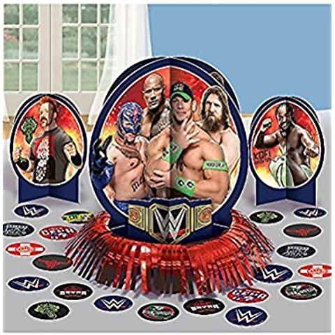WWE Wrestling Table Decorating Kit (23pc) by WWE Wrestling