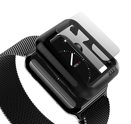 icaseit-apple-watch-snap-on-case-glass-42mm-pack-of-3-premium-slim-light-impact-scratch-protection-i