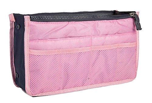 YARBAR Femmes Bolsas Zipper Casual Multi Function voyage Sacs cosmétiques rose