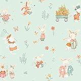 Kaninchen Stoff–0,5Meterware–Bunny