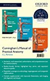 Cunningham's Manual of Practical Anatomy - 3 volume set