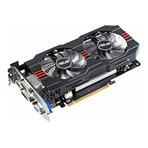Asus GeForce GTX 650 Ti Nvidia Graphics Card (1GB GDDR5, HDMI, VGA, 2x Dual-link DVI-D, PCI Express 3.0, OpenGL 4.3, GPU Tweak, DIGI+ VRM with Super Alloy Power Technology)