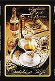 Schatzmix Asbach Uralt Rüdesheimer Kaffee reklame blechschild