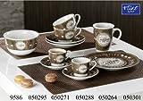 Flirt by R&B Geschirr-Serie Organic Coffee Größe Frühstücksteller Organic