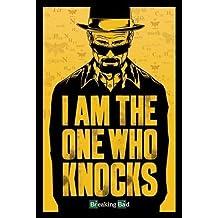 Breaking Bad (Volviéndose malo). Poster en INGLES de la serie de televisión en que se muestra a Heisenberg protagonista de la serie. Es un Maxi Poster con unas medidas aproximadas de 91,5 x 61 cm.