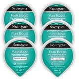 Neutrogena Pure Boost Tonerde Maske - Tonerde Maske mit Mineralerde für tiefenreine Haut - 6 x 10ml