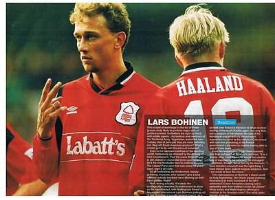 90-minutes-nottingham-forest-labatts-kit-lars-bohinen-football-magazine-picture