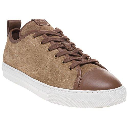 COACH Mm Cap Toe C121 Herren Sneaker Beige