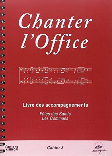 Chanter l'Office Vol.3 par Joseph Gelineau