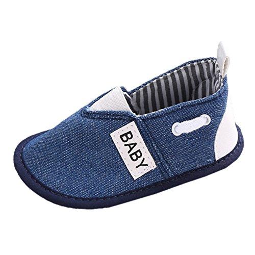 Fogo Sneaker Rã Do Bebê, Jovens Sapatos Walker Azul