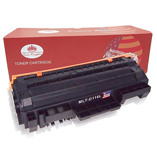 Preisvergleich Produktbild Toner Kingdom 1 Pack kompatibel Tonerpatronen für Samsung MLT-D116S MLT-D116L Xpress M2625 M2626 M2825 M2826 M2875 M2876 M2675 M2676 M2675FN M2825DW M2875FW M2825ND Drucker Schwarz 3,000 Seiten