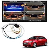 #5: Vheelocityin Blue Light Car Tail Lamp Strip With Red Backlight And Flowing Indicators For Hyundai I20 Elite