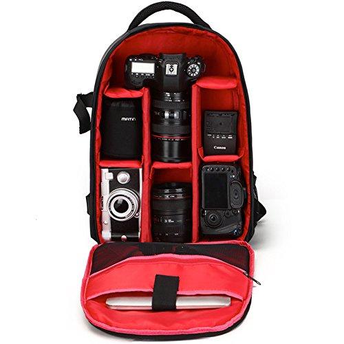 TOYIS DSLR Rucksack Kameratasche DSLR Kamera Rucksack Wasserdicht Kamera Tasche für Sony Canon Nikon Olympus SLR DSLR Kamera Objektiv und Zubehör