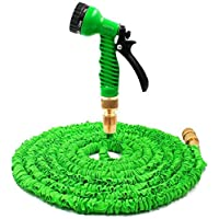 Magic Garden Hose,100FT Latex Hose With Brass Connector
