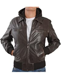 Eagle Square - Blouson - Chicago Cuir Marron - Marron