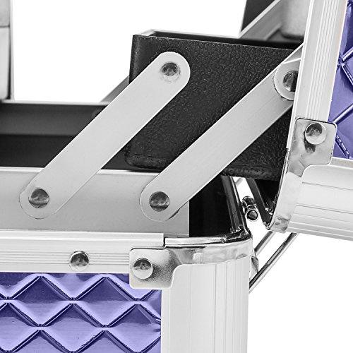 Etagenkoffer Beauty Case Kosmetikkoffer – in vielen Farben lieferbar - 8