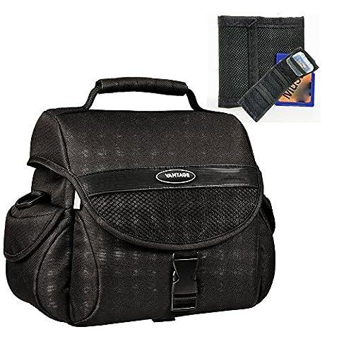 Foto Kamera Tasche Universal Set mit Speicherkartentasche für Canon EOS 1300D 700D 100D 80D