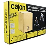 Percussions SCHLAGWERK CBA1S - KIT DE FABRICATION MEDIUM (45 CM) Cajon