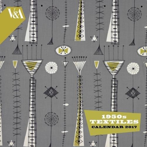 V&A - 1950s Textiles wall calendar 2017 (Art calendar) par Flame Tree Publishing
