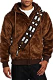 I Am Chewie Star Wars Chewbacca Fourrure Veste Sweat à Capuche Cosplay Costume -  Marron - Taille L (homme)