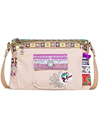 Desigual Bols Toulouse Military Deluxe Rosa Carnal