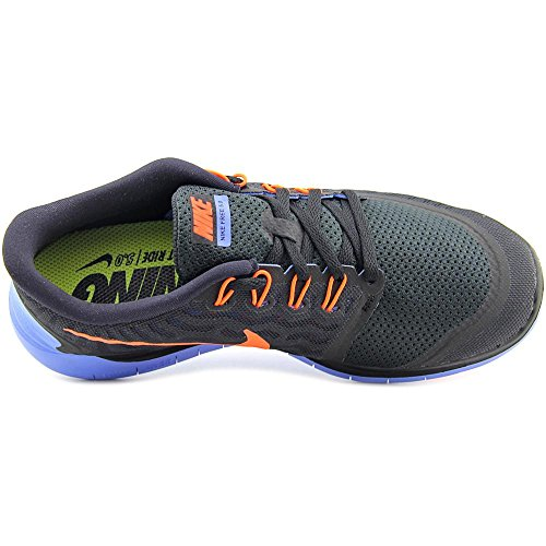 Nike Wmns Free 5.0 - Scarpe sportive Donna Nero (Negro (Black / Hyper Orange-Chalk Blue))
