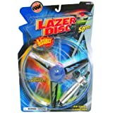 POOF-Slinky - Lazer Disc Light Show Flying Saucer with Rip Cord Launcher, 2133BL by Poof