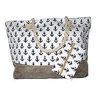 Benzi Beach Bag Large Summer Bag Cruise Holiday Travel Picnic (Design 9)