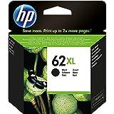 HP 62XL C2P05AE Cartuccia Originale per Stampanti a Getto d'Inchiostro, Compatibile con Stampanti HP Envy All in One 5540, 56