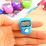 The world's smallest commercially available electronic tally counting device. Fixed finger strap. Tally counter suitable for business, pleasure and many sports. Counts up to 9, 999 laps, runs, goals, strokes, overs, hits, people, goods delivered etc ...