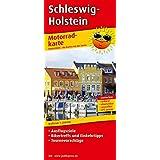 Motorradkarte Schleswig-Holstein: Mit Ausflugszielen, Einkehr- & Freizeittipps und Tourenvorschlägen, wetterfest, reissfest, abwischbar, GPS-genau. 1:250000