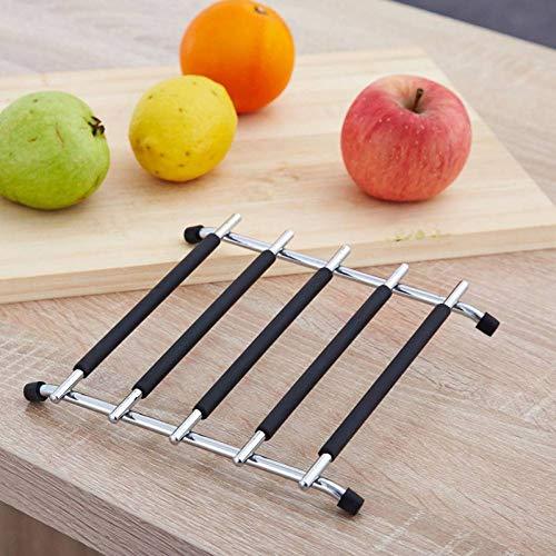 Edelstahl Topf Matte Anti-hot Wärme Beständig Tischset Matte Non-slip Tisch Matte Küche Kochen Isolation Pad schüssel Tasse Untersetzer -
