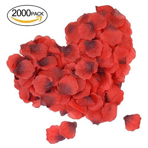 Pétalos de Rosa artificiales para decoración de Bodas