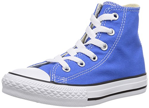 Converse - Youths Chuck Taylor All Star Hi - Sneakers Basses - Mixte Enfant Bleu