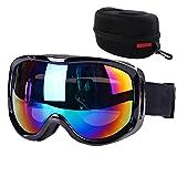 Boonor Motorradbrillen Motocross skibrille Sportbrille Wind Staubschutz Fliegerbrille Snowboardbrille Schneebrille Skibrille Wintersport Brille Dirtbike Off-Road Schutzbrille Radsportbrill