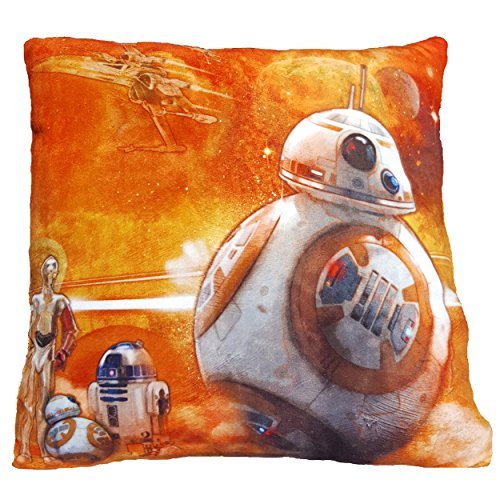Daum - Pimp Up Your Life 15993 - Disney Star Wars Kuschelkissen BB-8, Plüsch
