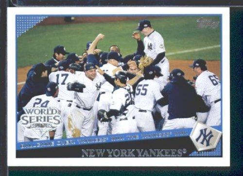 Topps New York 2009 Yankees Baseball Card  World Champions NYY25 World  Series cartonné Menthe conditionnalité 98b1015b39fb