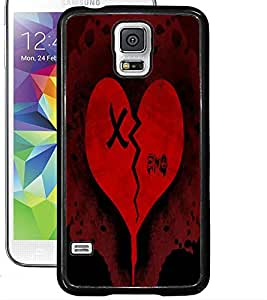 ColourCraft Broken Heart Design Back Case Cover for SAMSUNG GALAXY S5