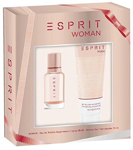 Esprit Esprit woman set edt 15 ml shower gel 75 ml 1er pack 1 x 90 ml