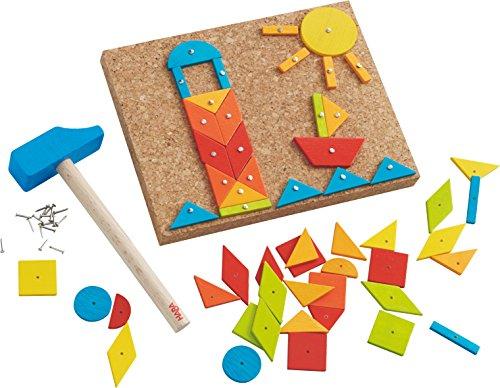 HABA 302963 Juguete de construcción - Juguetes de construcción (Stacking Blocks,, 3 yr(s), 55 pc(s), Boy/Girl, Children)
