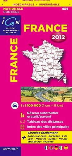954 FRANCE INDECHIRABLE 2012 1/1M