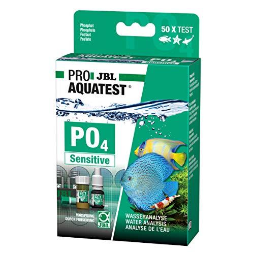JBL Wassertest-Set, Für Süß-/Meerwasser-Aquarien und Teiche, ProAquaTest PO4 Phosphat Sensitiv