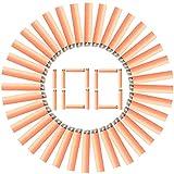 Best Nerf Darts - Subcluster 100Pcs Dart Refill Pack Foam Bullets Review