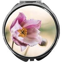 Pillendose/rund/Modell Leony/Natur - Blumen/ANEMONE preisvergleich bei billige-tabletten.eu